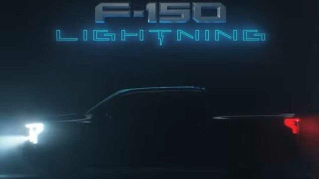 F-150 Lightning Electric Car